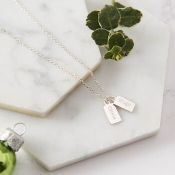 Personalised Tiny Tag Necklace