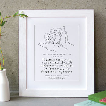 First Mothers Day Memory Print