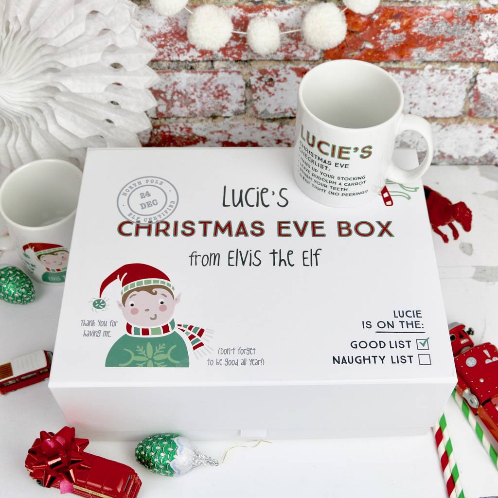 Personalised Christmas Eve Boxes | notonthehighstreet.com