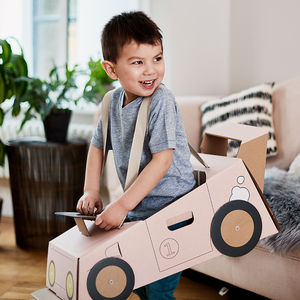 Imagination Cardboard Racing Car Costume - favourites