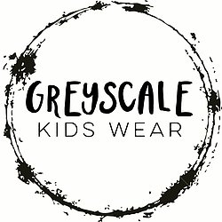 Greyscale Kids Wear Logo