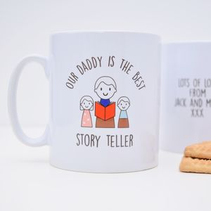 Personalised Best Daddy Mug