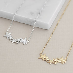 Multi Star Necklace For Hope - new in jewellery
