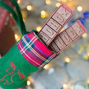 Personalised Chocolate Stocking Filler - stocking fillers