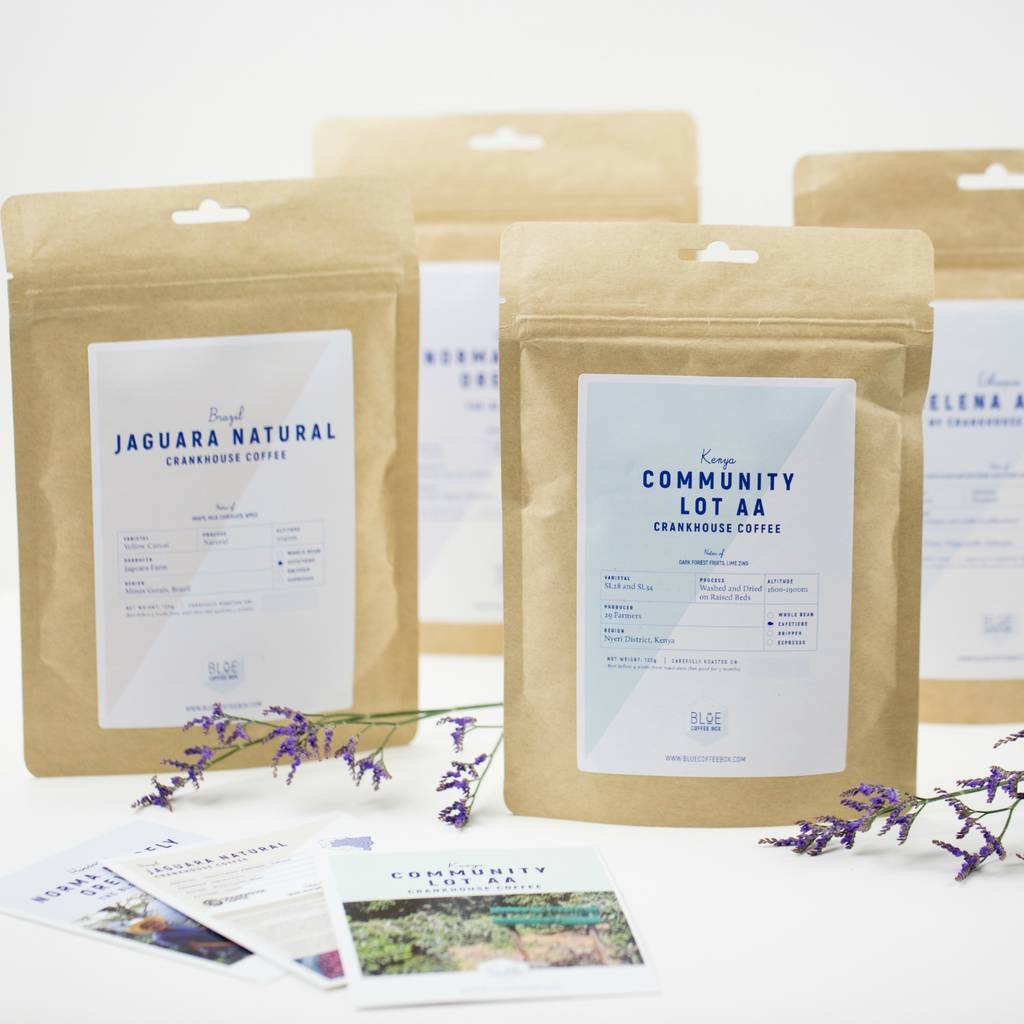 Three Month Gourmet Coffee Bag Gift Subscription