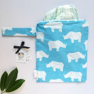Rhino Nappy Changing Bag - baby changing