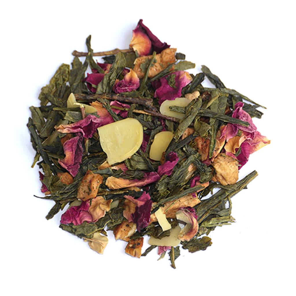 Apple Crumble Loose Leaf Green Tea By Born Wild