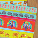 Zoo Gift Wrap Two Sheets