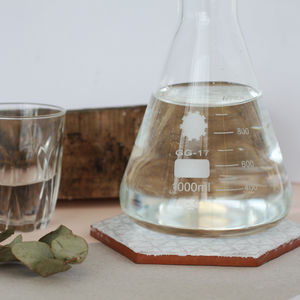 Laboratory Style Carafe With Cork Stopper - whatsnew