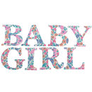 Liberty Print Baby Girl Letters In 30 Prints