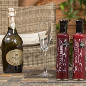 Two Alcoholic Prosecco Mixers And Prosecco - gifts for her