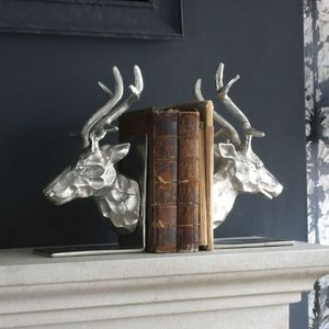 Stag Bookends - bookends