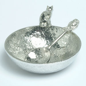 Owl And Pussy Cat Bowl And Spoon Set, Wedding Gifts