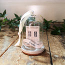 New Home Pink Door Cloche