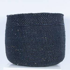 Milulu Grass Black Storage Basket - storage