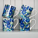 Summertime Blues Mug Set