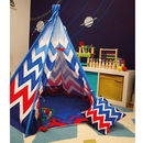 Child Teepee And Mat Chevron Design