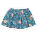 Girls Rainforest Print Fun Skort