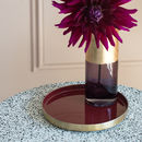 Mini Bordeaux Decorative Tray
