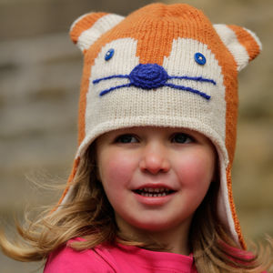 Ginger Fox Knit Hat