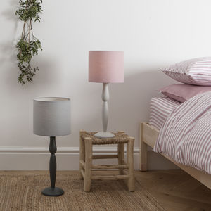 Harriet Hare Original Painted Table Lamp - bedside lamps