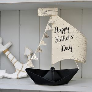 Father's Day Sail Boat Card - best father's day cards