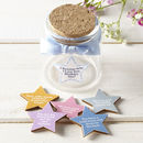 Personalised Star Tokens Inside Bottle