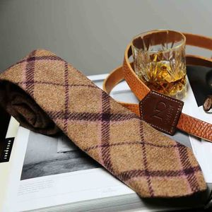 Mens Wool Neck Tie