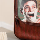 Luxury Personalised French Retro Toiletry Bag