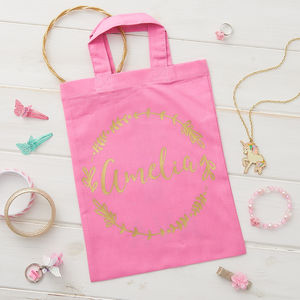 Personalised Mini Tote Bag