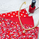 Handkerchief Set : Fiesta Red