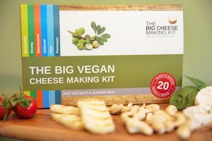 The Big Vegan Cheese Making Kit - new in food & drink