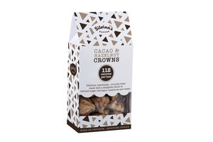 Cacao Hazelnut Crowns: Perfect Healthy Gluten Free Gift - gluten free food gifts