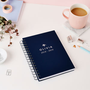 Traditional Mid Year Or Academic Diary - 2018/2019 calendars & planners