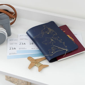 Stitch Passport Cover - gifts for him