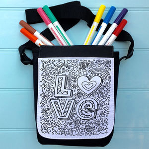 Love Colour Me In Bag - cross-body bags