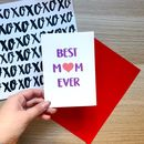 Fun 'Best Mum Ever' Card