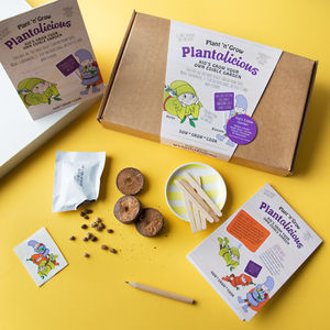Personalised Kids Grow Your Own Edible Garden Kit - garden sale