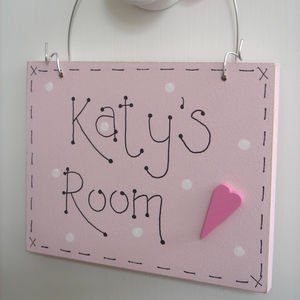 Personalised Room Plaque| Children's Door Sign - door plaques & signs
