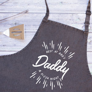Personalised Dad Favourite Things Apron