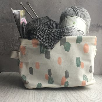 Pastel Storage Basket