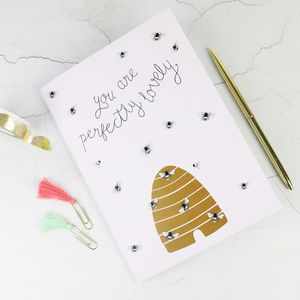 'You Are Perfectly Lovely' A5 Notebook