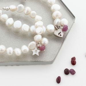 Mama Et Moi Personalised Birthstone Bracelets - children's jewellery