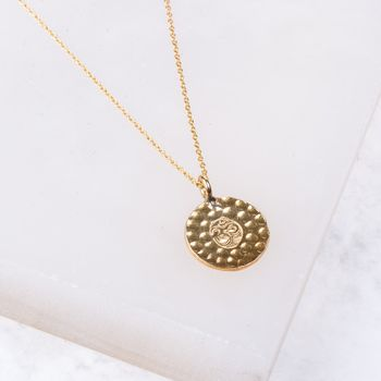 Om Gold Vermeil Necklace