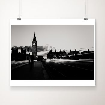 London Noir Photographic Print