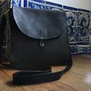 Vegetable Tanned Leather Satchel And Rucksack