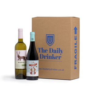 Wine Lover's Two Bottle Gift - wines, beers & spirits