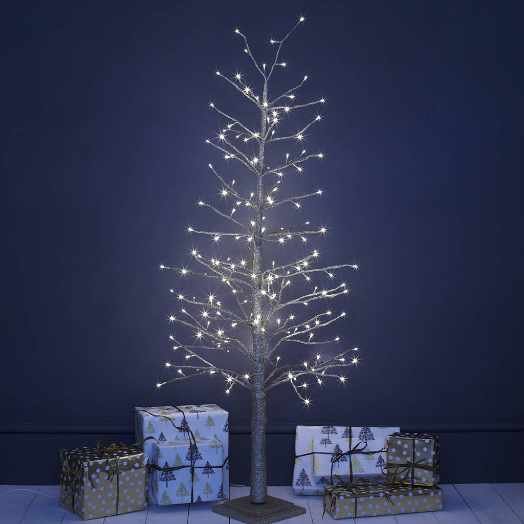 champagne gold led christmas tree by primrose & plum ...