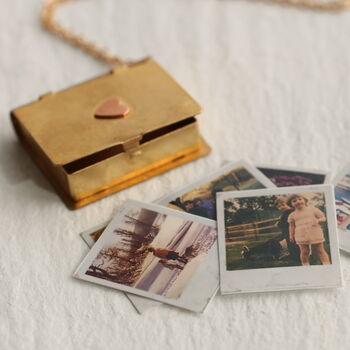 Personalised Photo Album Locket