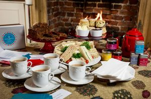 Lazy Afternoon Tea And Games Box - alternative hampers